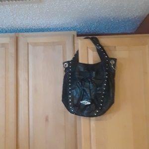 Elliott Lucca Leather Shoulder HOBO Bag